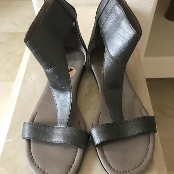 fff7fd01d7d12b Franco Sarto Gelato silver Sandal
